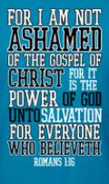 Image of Romans 1:16 Tee