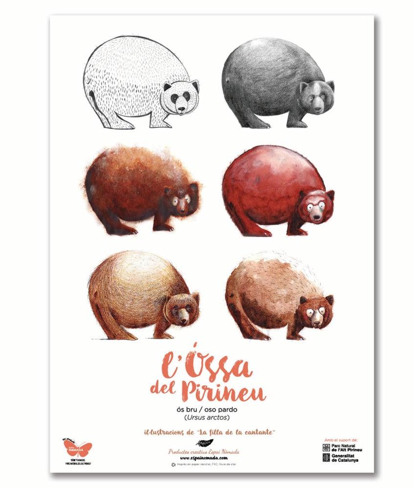 """Image of Cartell """"L'Óssa del Pirineu"""