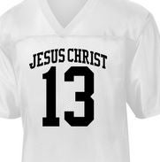 Image of Team Jesus Football Jersey