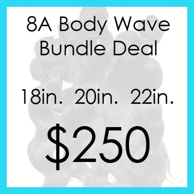 Image of 8A Body Wave Bundle $250
