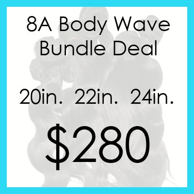 Image of 8A Body Wave Bundle $280