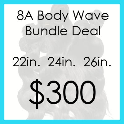 Image of 8A Body Wave Bundle $300