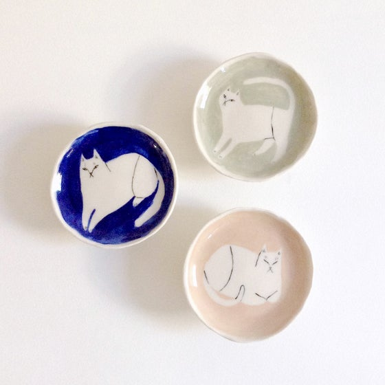Image of Cat ring dishes