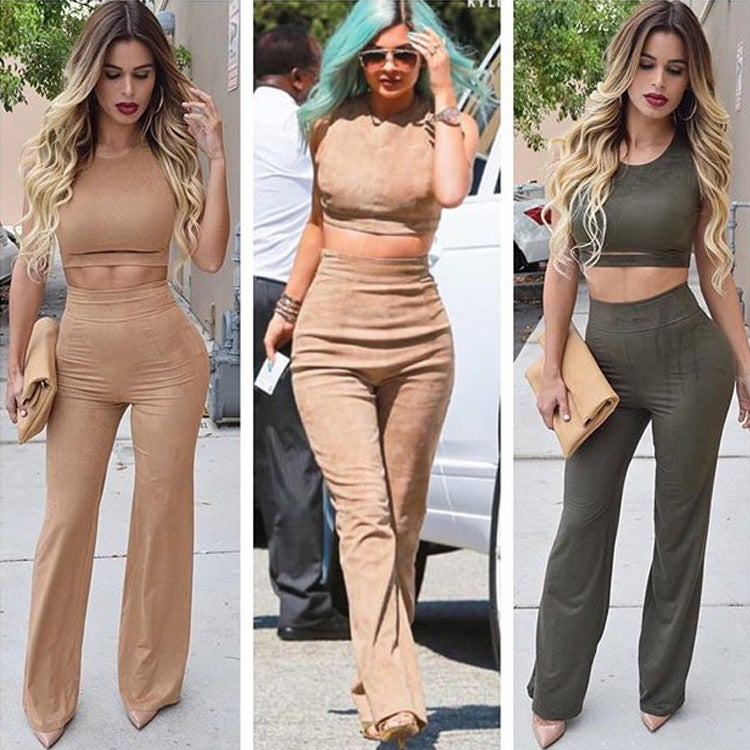 Image of HOT CUTE TWO PIECE JUMPSUIT