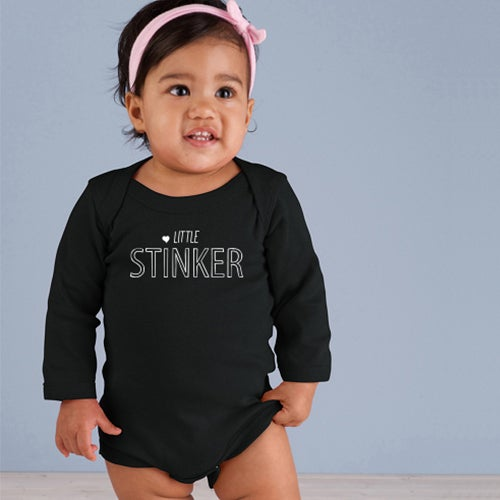 Image of Little Stinker Long Sleeve Onesie
