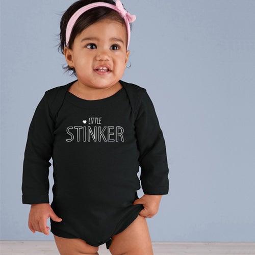 Image of Little Stinker Long Sleeve Onesie