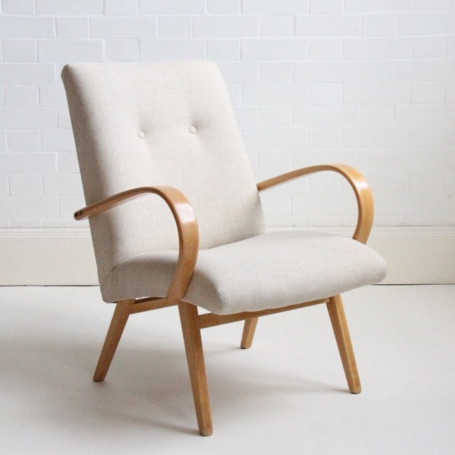 Image of mid-century cocktail chair