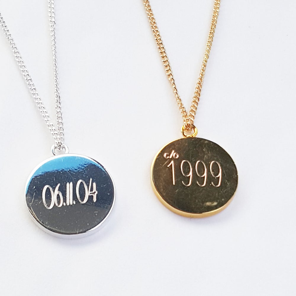 Image of Special Number Necklace
