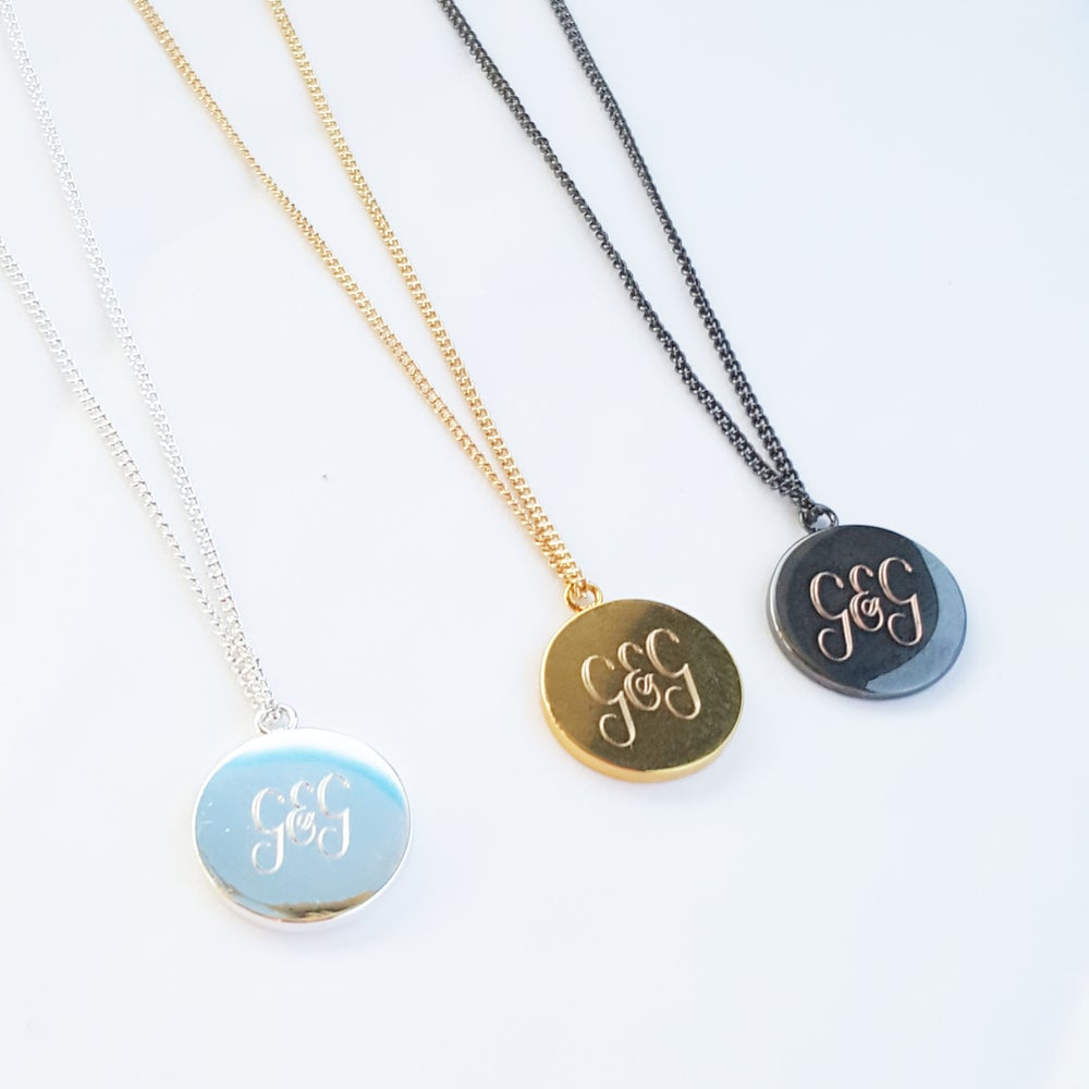 Image of love pendant necklace