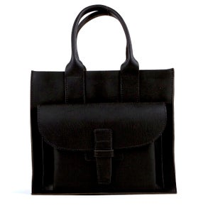 Image of Sac 2 / Black Buffalo   Sac 2 Navy Leather