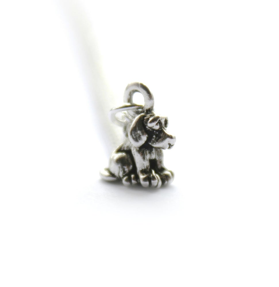 Image of TEENY PUPPY NECKLACE