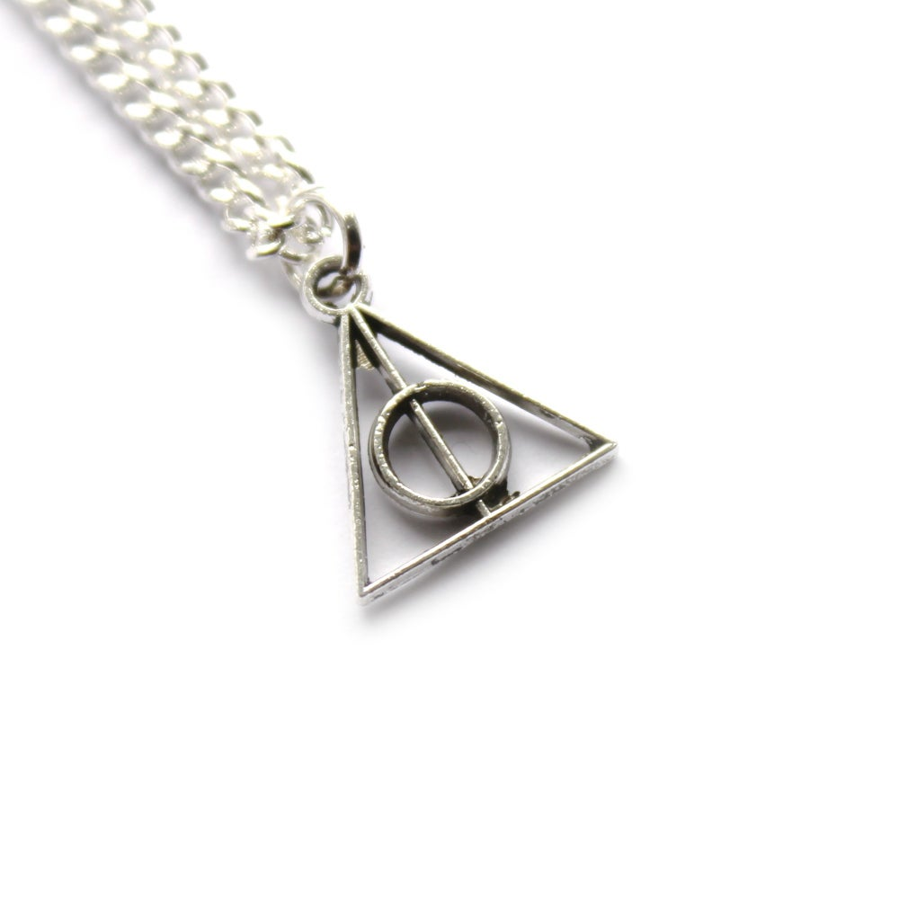 Image of TEENY DEATHLY HALLOWS JEWELLERY