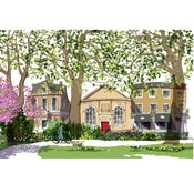 Image of Newington Green, spring