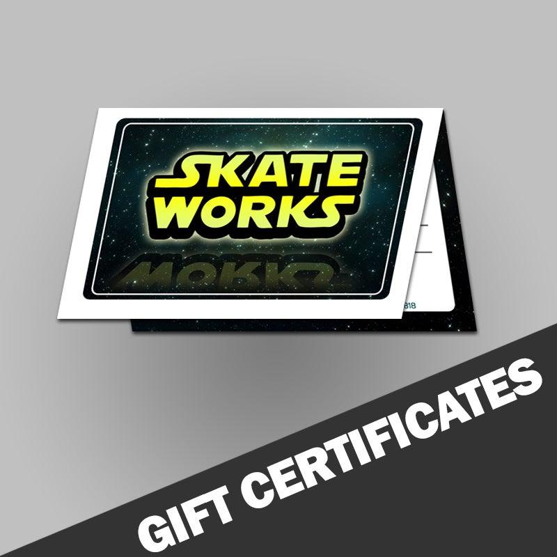 Image of Skateworks Gift Certificate