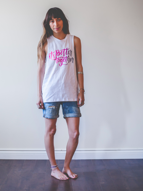 Image of Better Together Tank Women's (White)