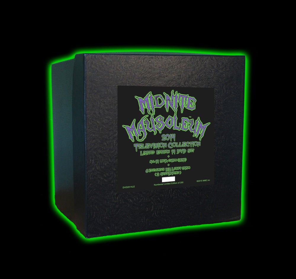 Image of Midnite Mausoleum 2014 TV Collection Box set (limited edition)