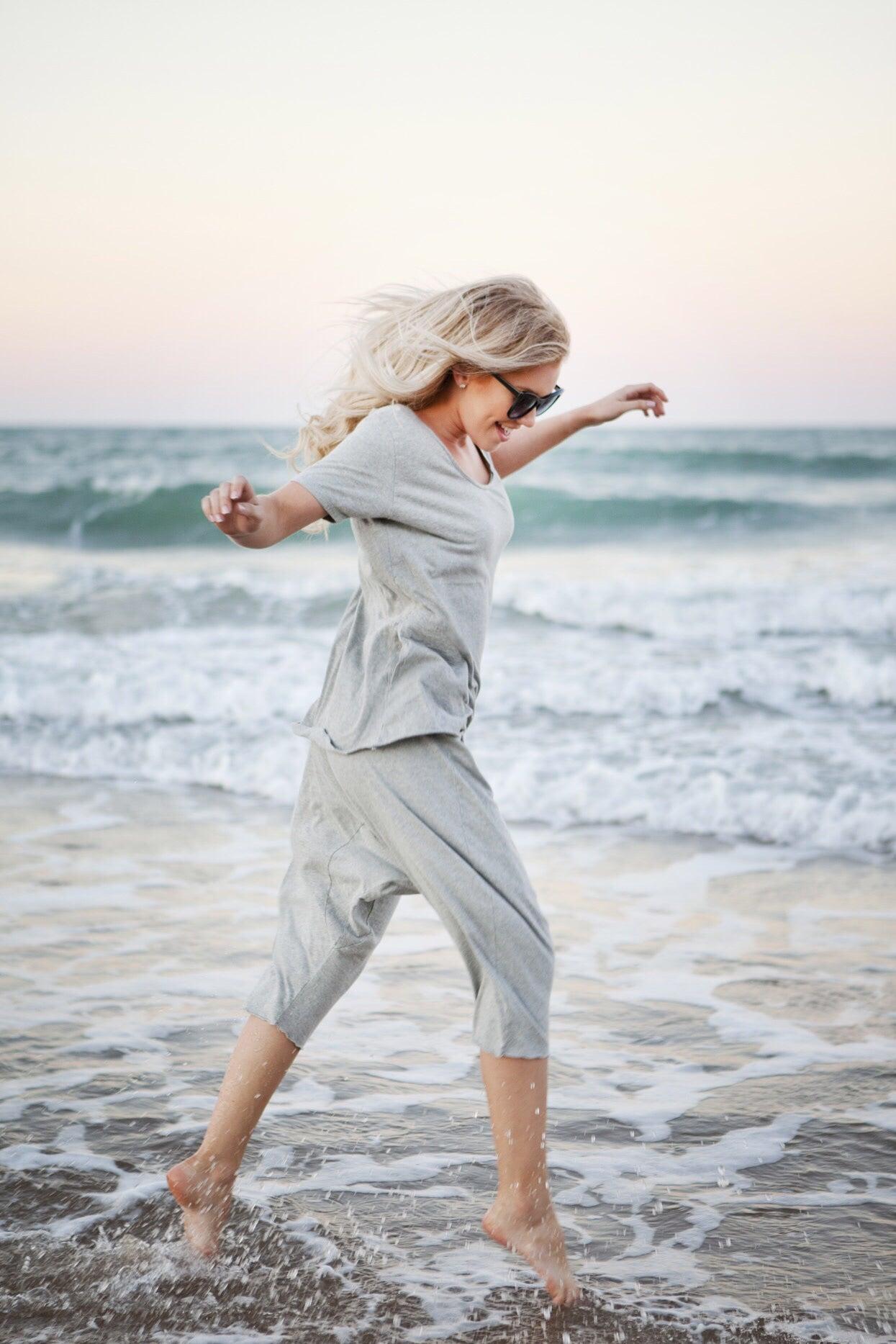 Image of Beach Shorts - Organic Grey 🔘