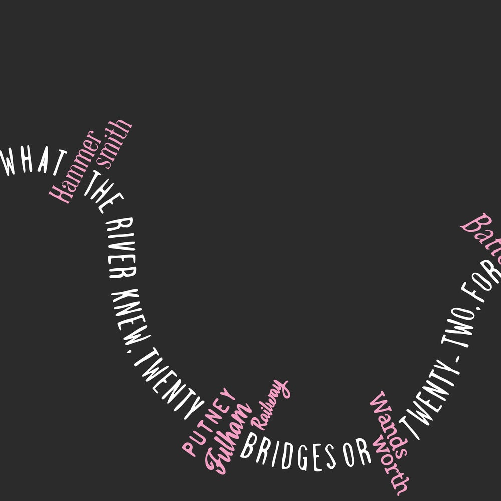 Image of Twenty Bridges (Grey & Pink, 2015)