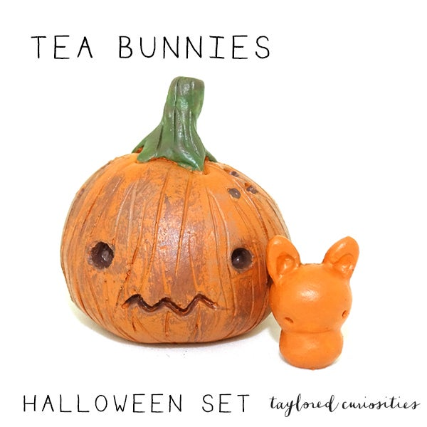 Image of Tea Bunnies: Halloween Gift Set