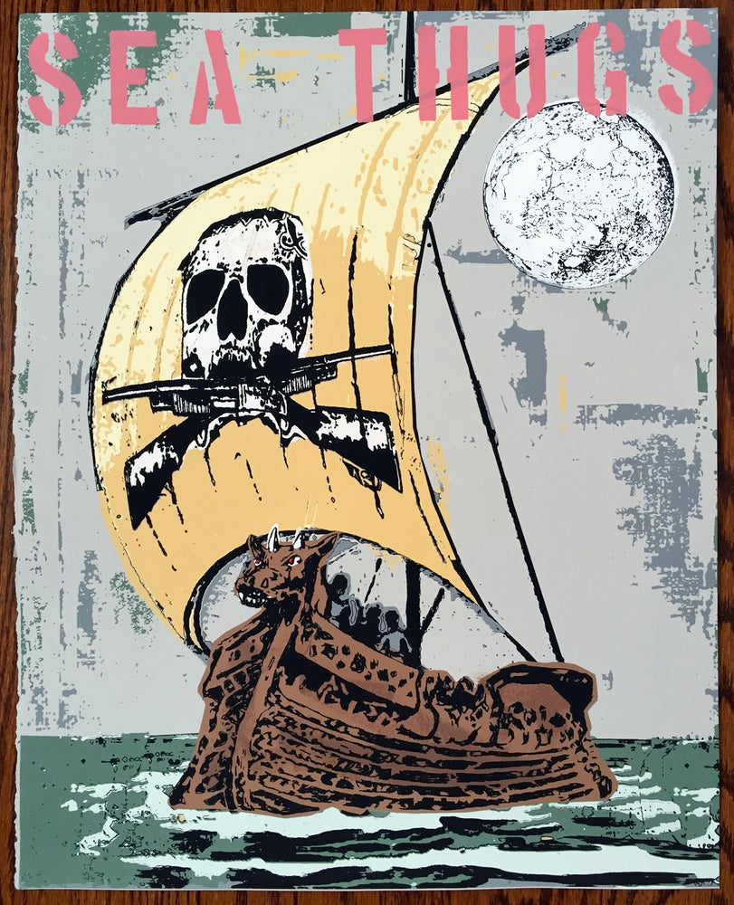 Image of Sea Thugs - Hand Silk Screened Art Print