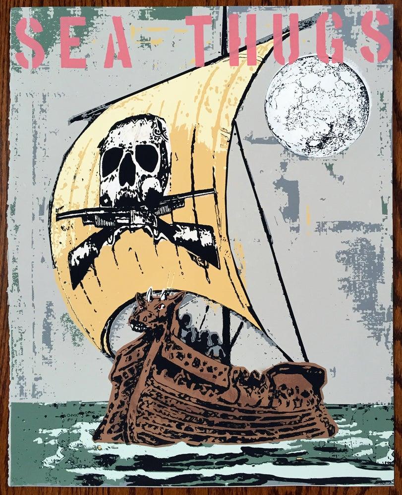 Image of Sea Thugs - Hand Silk Screened Art Print