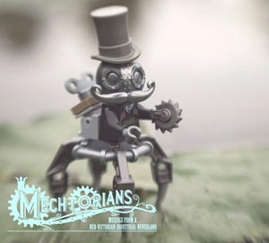 Image of STEEL Edition Mechtorian - Back in Stock!