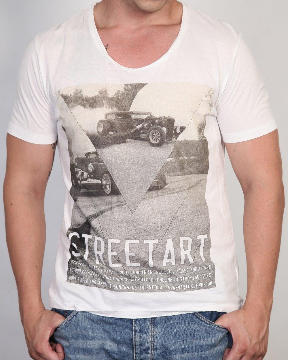 """Image of STREETART """"Hot Rod"""" Men T-Shirt"""