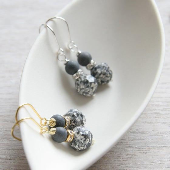Image of Monochrome Earrings