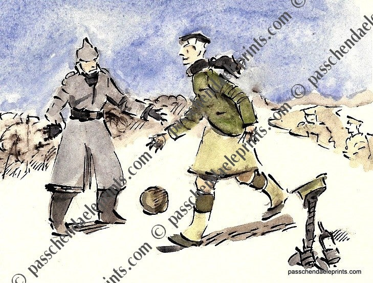 Image of The Christmas Truce ~ Football Game