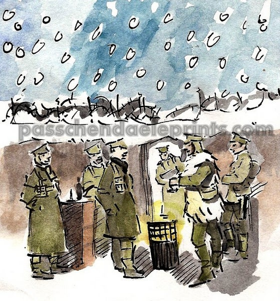 Image of The Christmas Truce ~ The Brazier