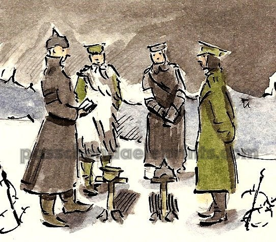 Image of The Christmas Truce ~ Joint Burial Service