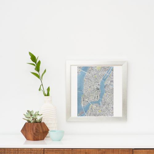 Image of NEW YORK CITY - FRAMED
