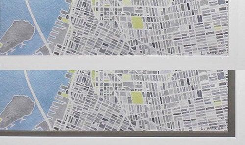 Image of NEW YORK CITY - FRAMED