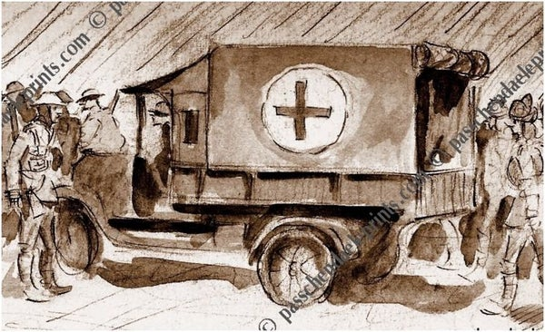 Image of 'Going West' 1917