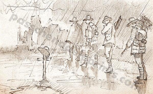 Image of Goodbye Cobber ~ Ypres 1917
