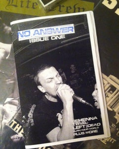 Image of NO ANSWER: ISSUE ONE WINTER 2014
