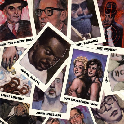 Image of TRUE CRIME - MURDERERS ETC. TRADING CARDS  - 1992
