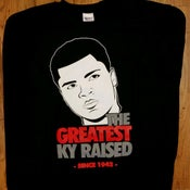 "Image of KY RAISED ""The Greatest"" KY LEGEND'S SERIES crewneck"
