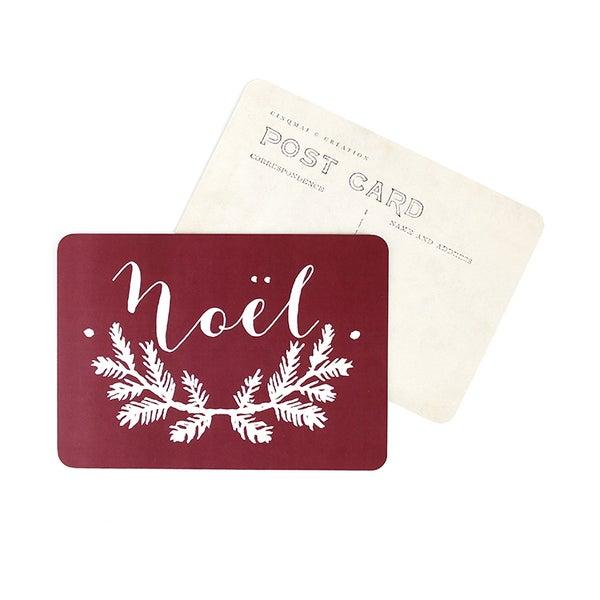 """Image of Carte postale """"NOEL / MILA / BORDEAUX"""""""