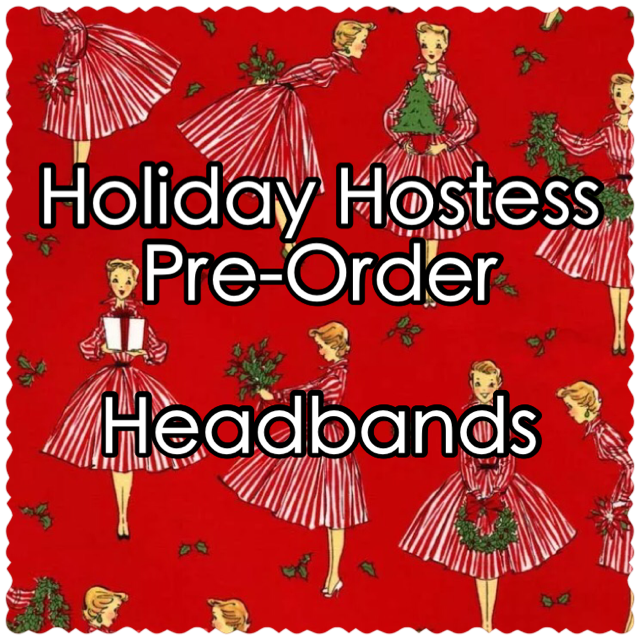Image of Holiday Hostess Pre-Order: Oversized Bow or Knot Headband