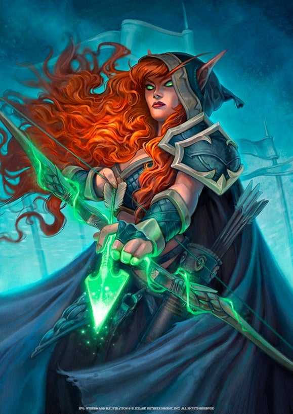 "Image of HEARTHSTONE Print ""Brave Archer"""