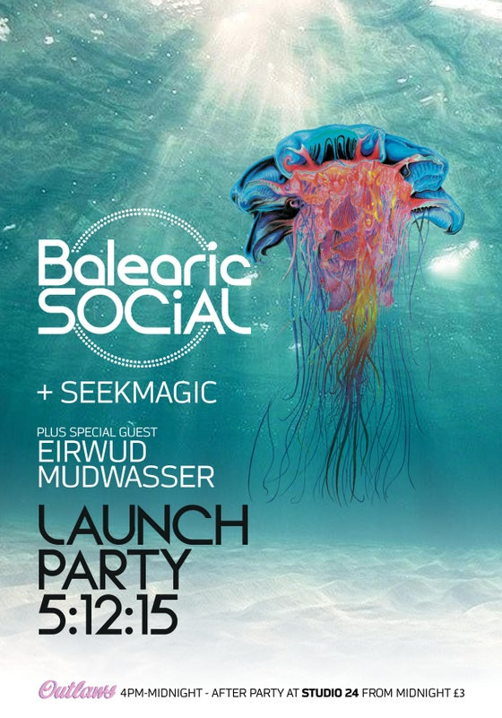 Image of Balearic Social Records Launch After Party with special guest Eirwud Mudwasser Sat 5.12.15
