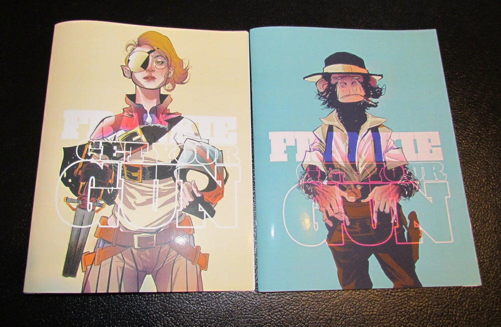 Image of Frankie Get Your Gun, 2 Book Set by Robbi Rodriguez