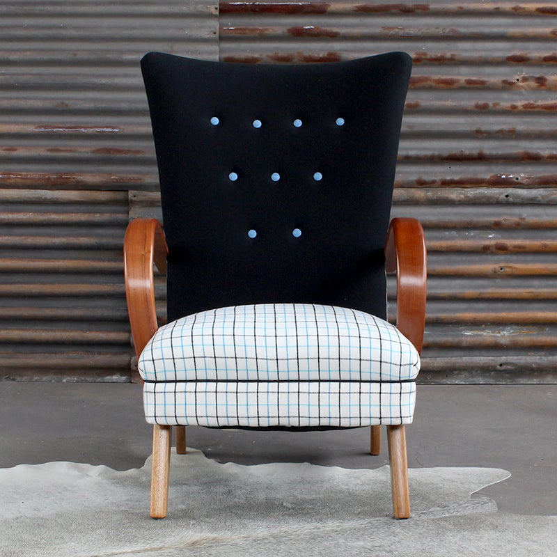 Image of Brera Chair in Cobalt