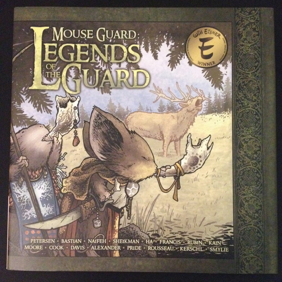 Image of Mouse Guard: Legends of the Guard Vol. 1 Hardcover *SIGNED*
