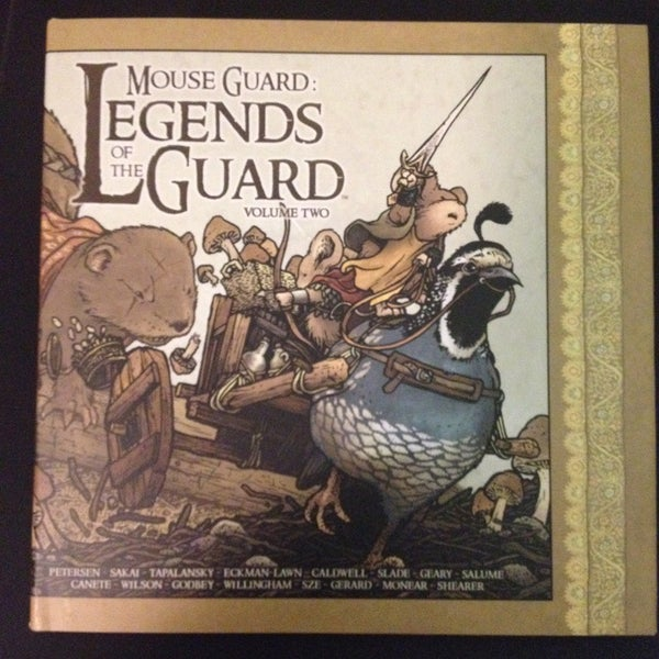Image of Mouse Guard: Legends of the Guard Vol. 2 Hardcover *SIGNED*