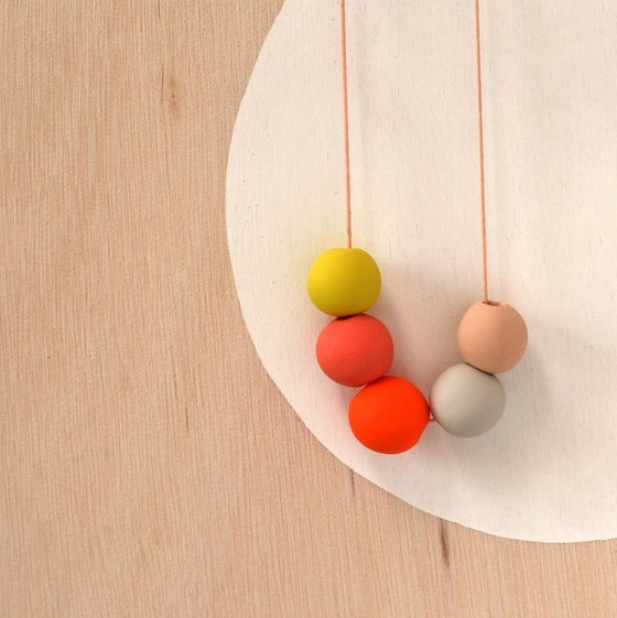 Image of not quite round beads 6