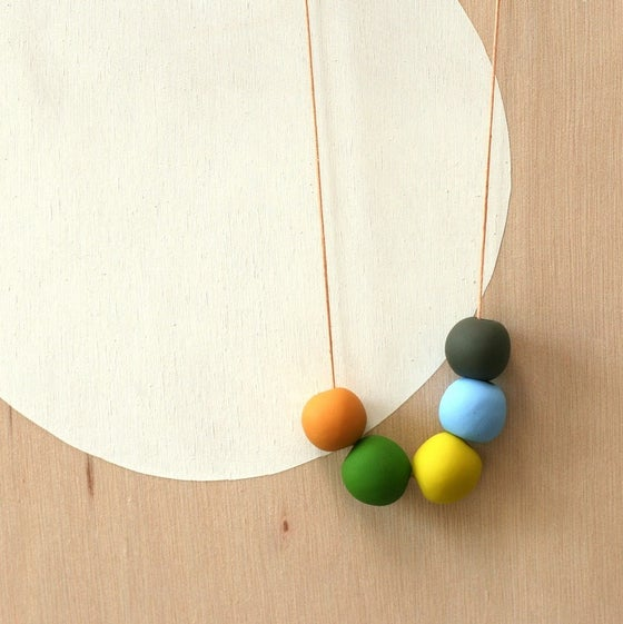 Image of not quite round beads 8