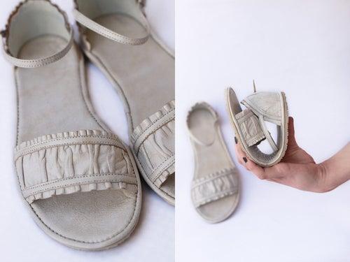 Image of Sandals - Golden sheer - Wedding sandals