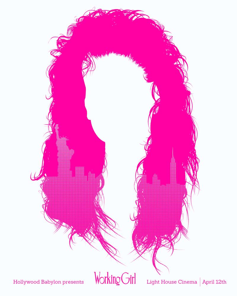 Image of Working Girl Movie Poster - HOLLYWOOD BABYLON